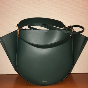 ⭐️New⭐️Authentic Wandler Large Spruce Green Tote